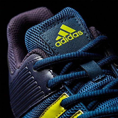 Srs Adidas 4 M Scarpe Rosso Turchese Hockey - Ss18 Blu / Giallo
