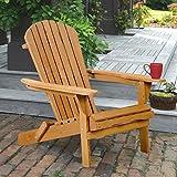 New Outdoor Wood Adirondack Chair Garden Furniture Lawn Patio Deck Seat 2000