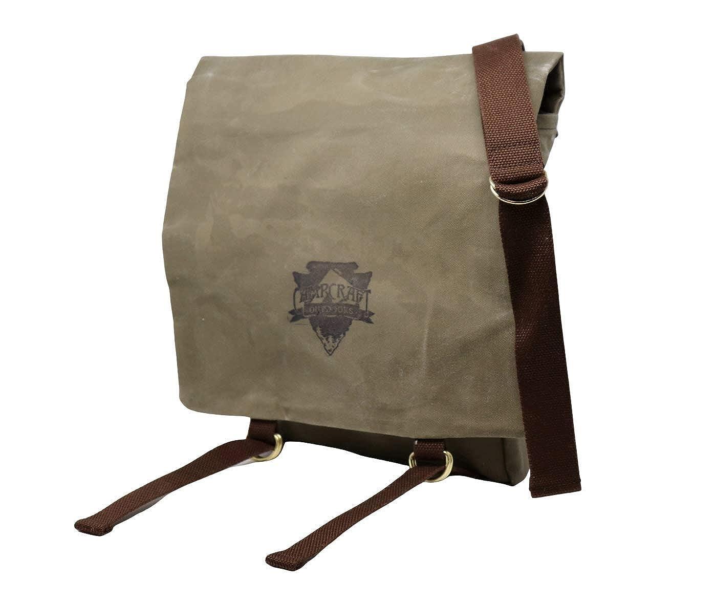 Woodcraft Haversack, Bushcraft Bag, Waxed Canvas Bag, Outdoor Bag