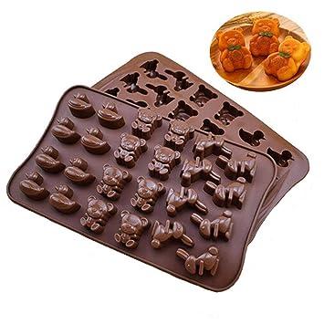 Timetries Tiere Silikonform Schokolade Sussigkeiten Eiswurfel Form