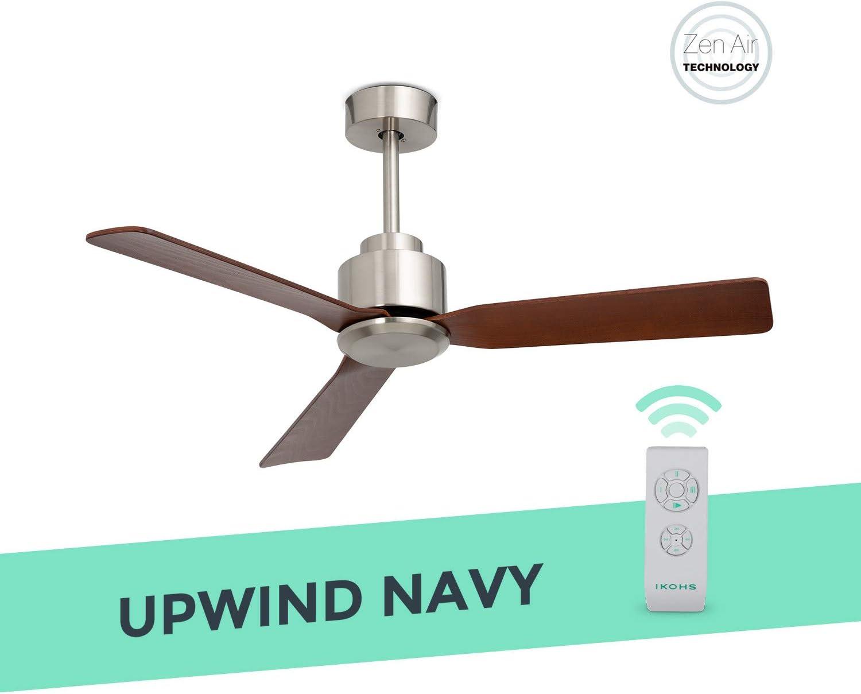 IKOHS UPWIND Navy - Ventilador de Techo con Mando a Distancia, 3 ...