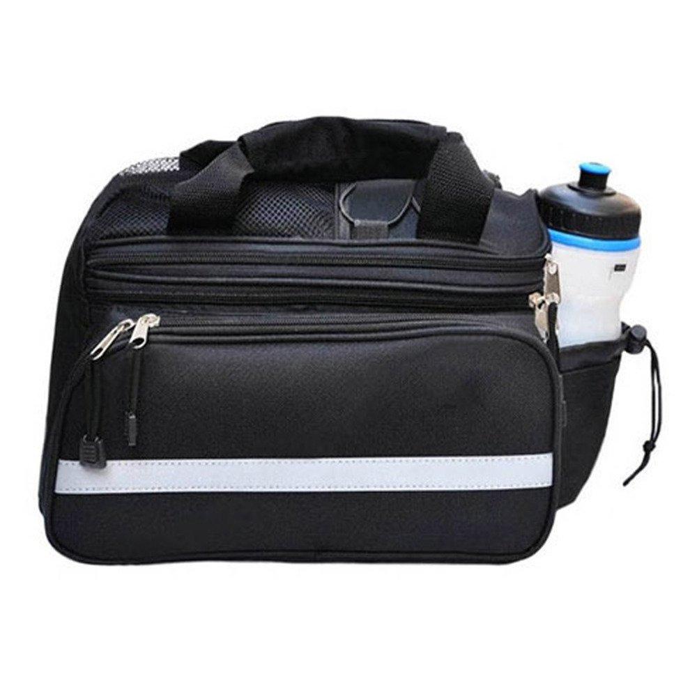 Bicycle Bike Pannier Rear Seat Bag Rack Trunk Handle Handbag Storage