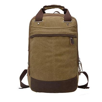 dde8b9d8cd90 Amazon.com  Vintage Canvas Backpack