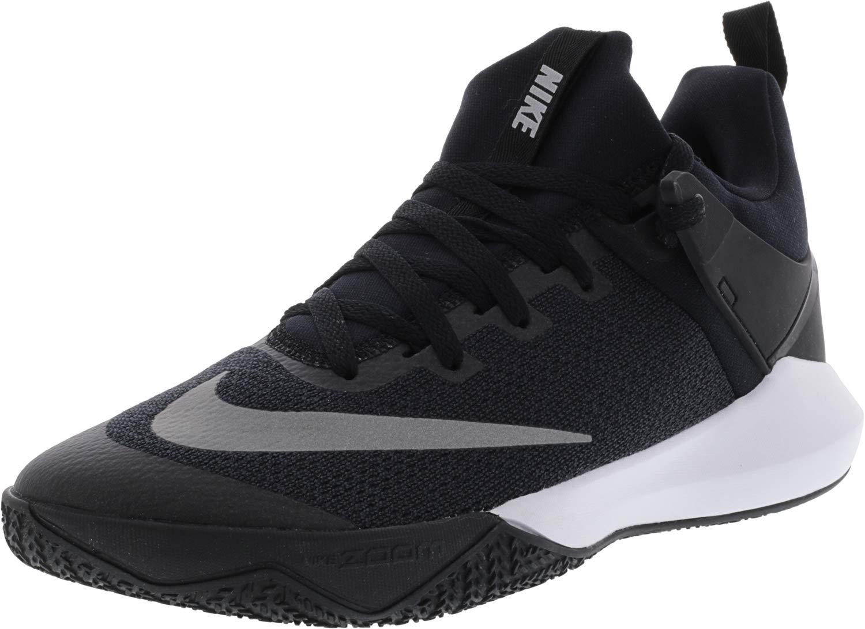 2488c34c6c0e Galleon - NIKE Zoom Shift TB Men s Basketball Shoes Black White Size 11.5