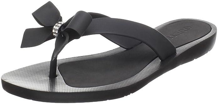 50e293303921 Amazon.com  GUESS Women s Tutu Flip-Flop  Guess Shoes  Shoes