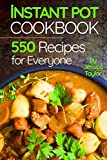 Books : Instant Pot Pressure Cooker Cookbook:: 550 Recipes for Any Budget. Simple And Quality Guide For Beginners And Advanced