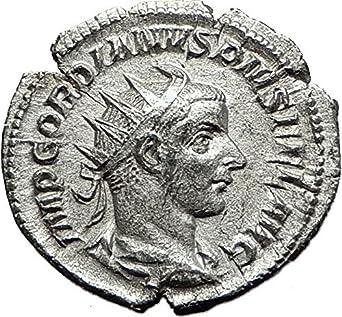 Coins Roman Imperial (235-476ad) Intelligent Roman Coin Silver Antoninianus Gordian Iii 238-244 Ad