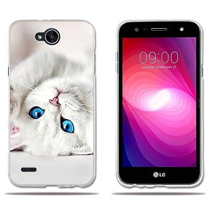 Amazon.com: LG X Power 2/LG K10 Power/LG LV7 funda, lujo ...