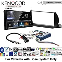 Volunteer Audio Kenwood DDX9704S Double Din Radio Install Kit with Apple Carplay Android Auto Fits 2002-2004 Nissan Altima (With Bose)