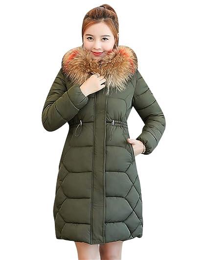 chaussures de séparation profiter de prix discount rétro Manteau Hiver Femme Jacket Elegant Zip Long Veste à Capuche ...