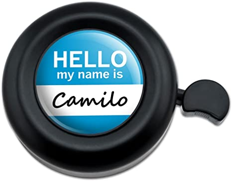Graphics and More Camilo Hello My Name Is - Timbre para Manillar ...