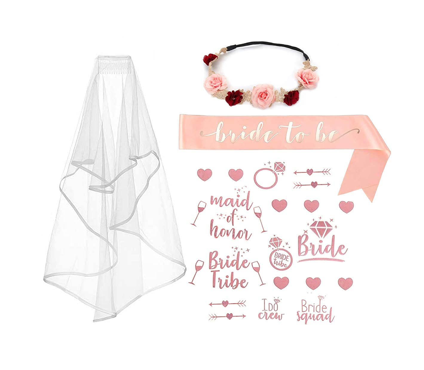 The Bride Hen Night Bachelorette Bridal Shower UK Party 2019 Pink