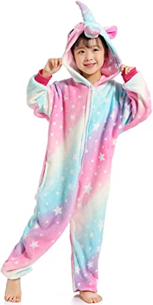 Indiefit Adult Onesie Pyjamas Flannel Cosplay Costume Sleepwear Nightgown