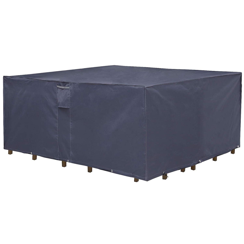 Colore: Grigio Telo Protettivo per mobili da Giardino SONGMICS GFC94G 170 x 100 x 70 cm