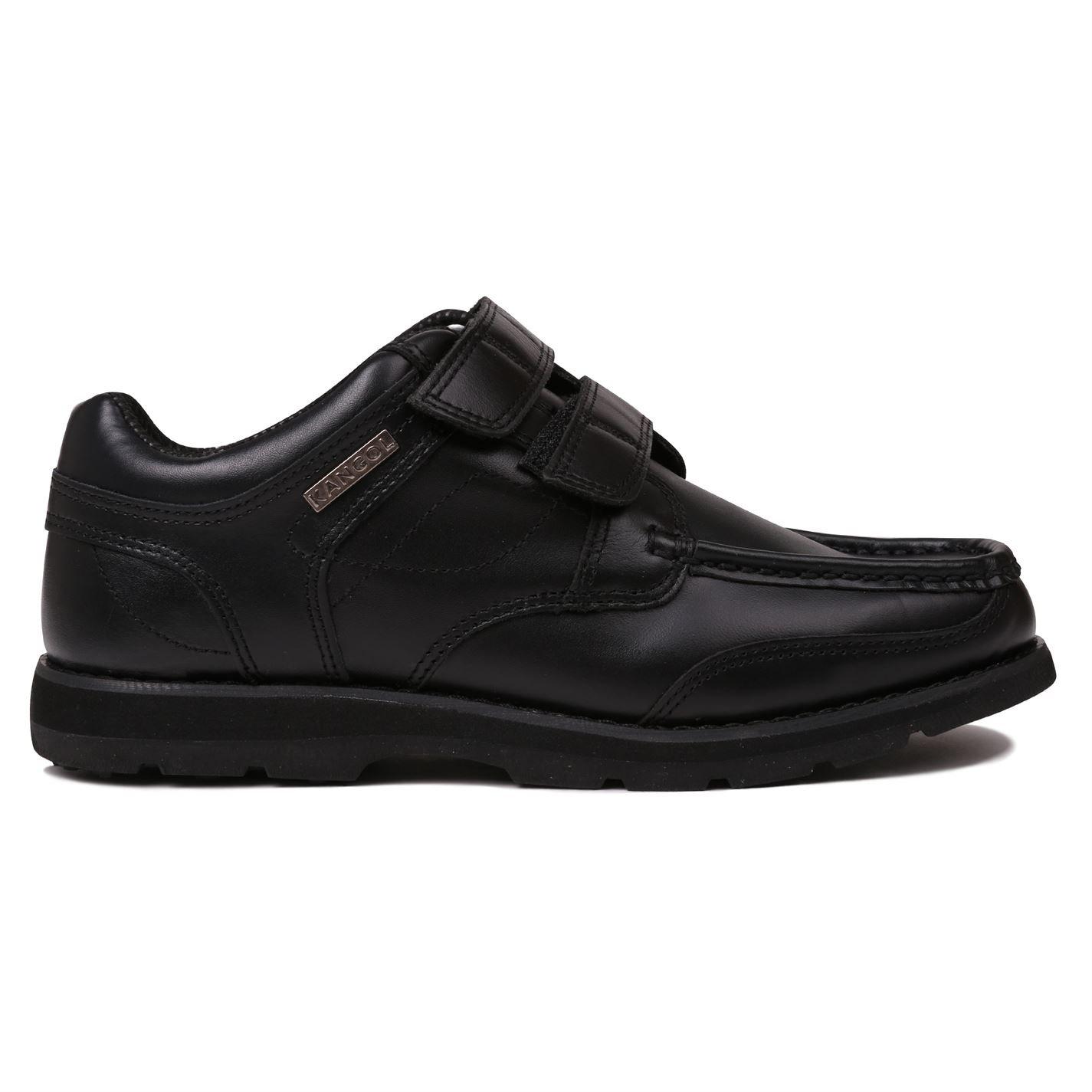 Kangol Kids Harrow Vel Junior Shoes Hook and Loop Tape Casual Footwear Black UK 5 (38)