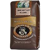Jeremiah's Pick 咖啡早餐混合,深烘焙全咖啡,10 盎司袋(3 件装)