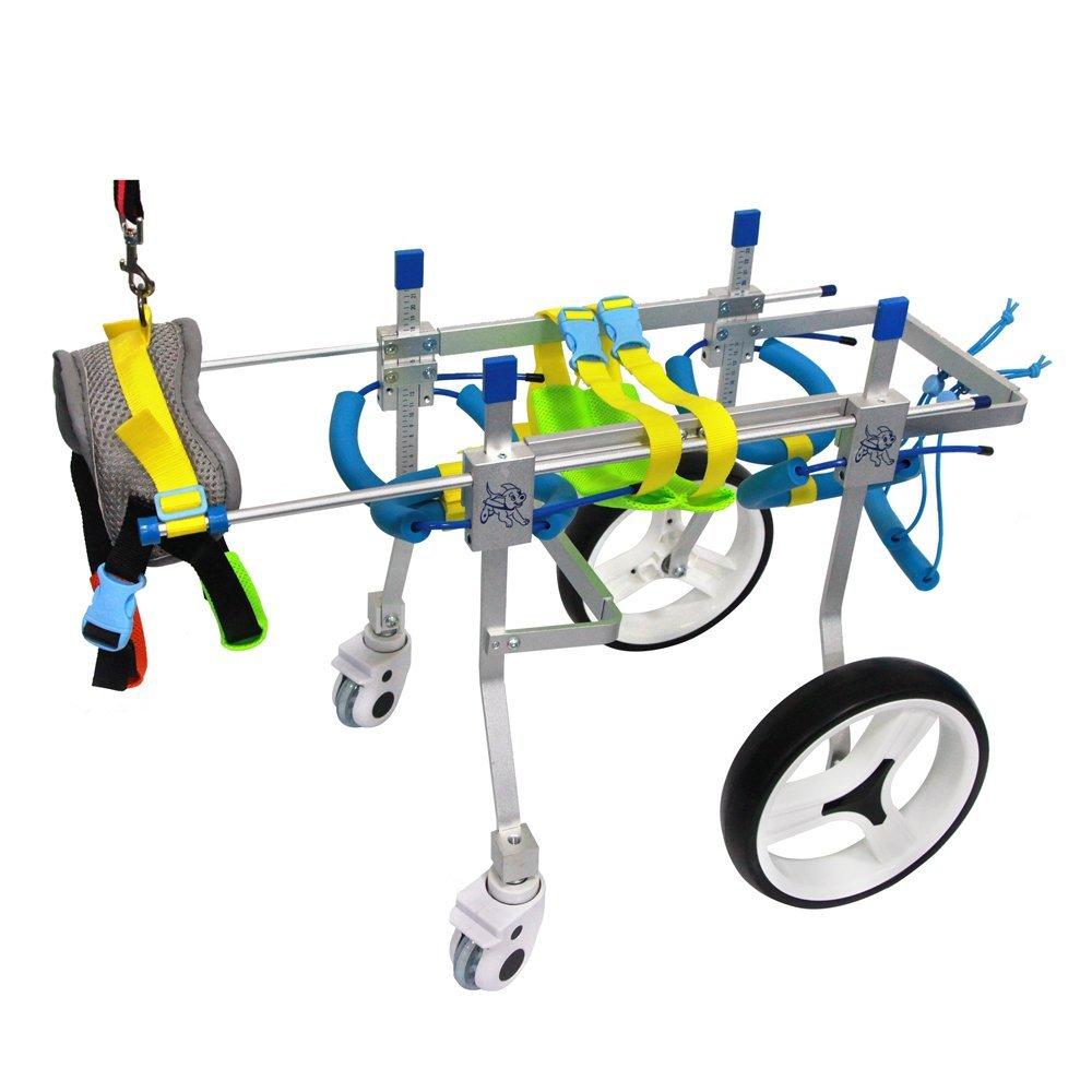 Amazon.com : SURPCOS Adjustable Dog Pet Wheelchair, Front/Hind Legs on