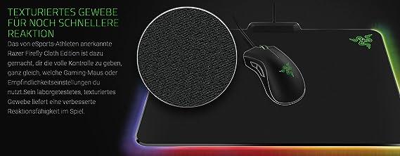 Razer Firefly Cloth Ed. - Alfombrilla: Razer: Amazon.es: Informática