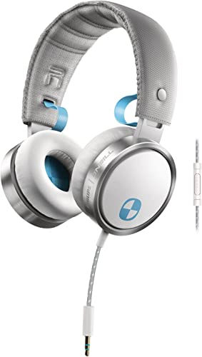 Philips SHO7205WT 28 O Neill The Construct Headband Headphones, White Discontinued by Manufacturer