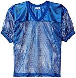 ADAMS USA FB Jersey with Elastic Sleeve, Royal Blue, Large/X-Large offers