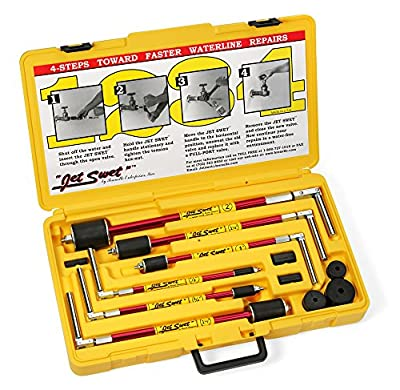 """NEW Jet Swet 6800 Kit: Tools & Replacement Gaskets for the 1/2"""" to 2"""" Sized Pipes in a PVC Heavy Duty Carrying Case"""