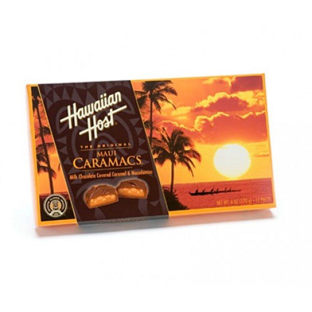 Hawaiian Host Maui Caramacs 6 / 6 oz. Boxes