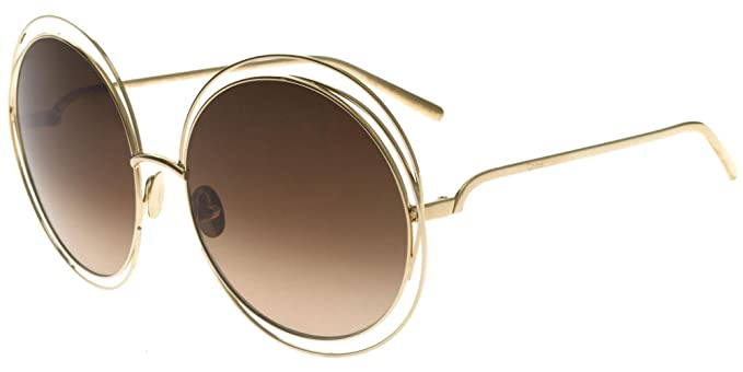 e79fb641fc Chloé CARLINA CE114SG LIMITED EDITION K GOLD/BROWN SHADED women ...