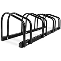 1-4 Bike Floor Parking Stand Instant Storage Rack Bicycle Cycling Car Carrier Portable leans Against Wall Free-Combined