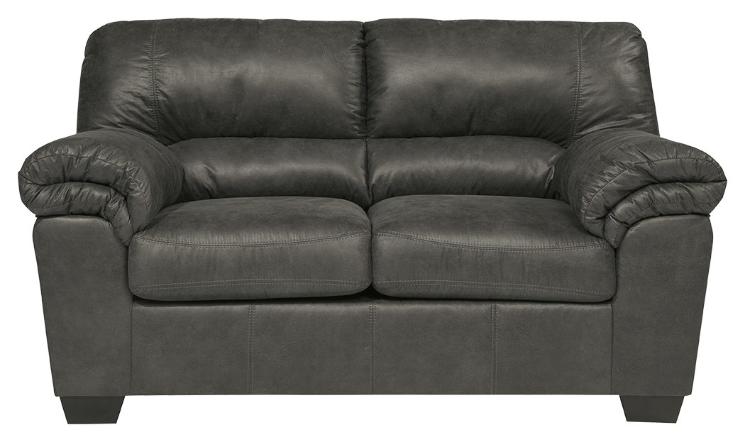 Signature Design by Ashley 1200135 Bladen Loveseat, Slate