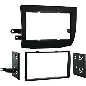 1-2004 - 2010 Toyota Sienna Double DIN Installation Kit, Designed specifically for the installation of double DIN radios or 2 single-DIN radios, 95-8208