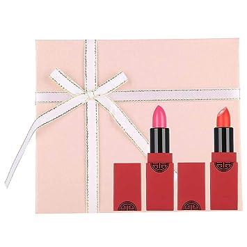 Set de lápices labiales, Kit de bálsamo labial con brillo de ...