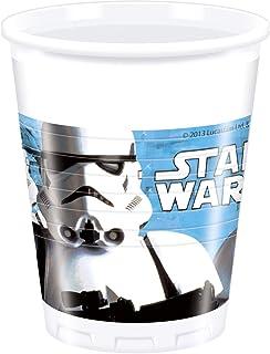 8 vasos * STAR WARS II * para la fiesta y el cumpleaños // Procos