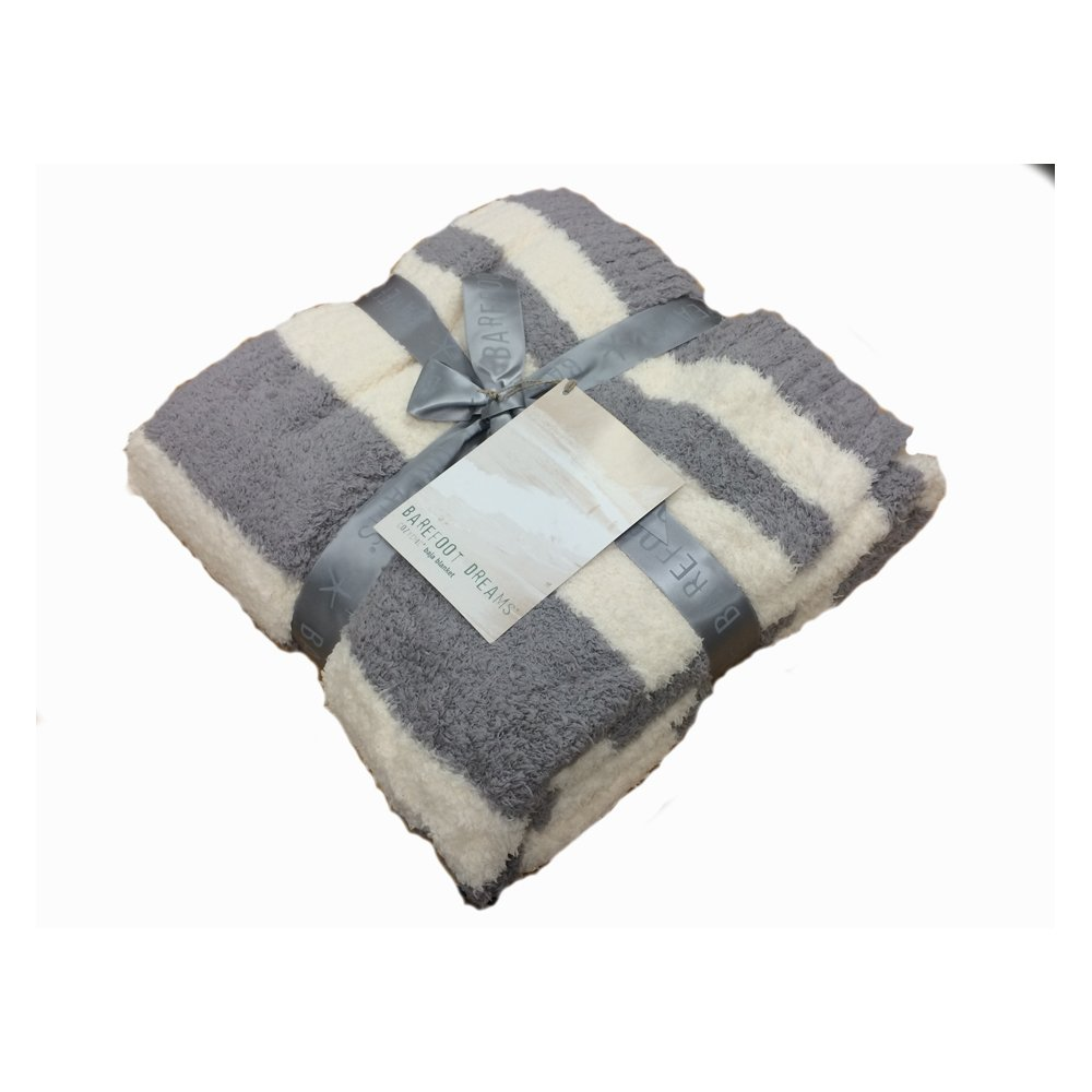 BarefootDreams Cozychic Baja Blanket - Dove by Barefoot Dreams