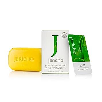 Jabon De Azufre Para El Acne 100% Natural - Exfolia Tu Piel Para Eliminar Las