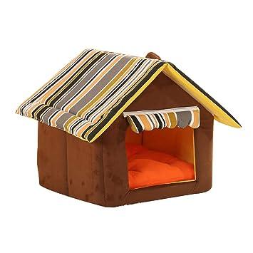 dontdo - Cojín de Invierno, diseño de caseta de Perro y Gato: Amazon.es: Productos para mascotas
