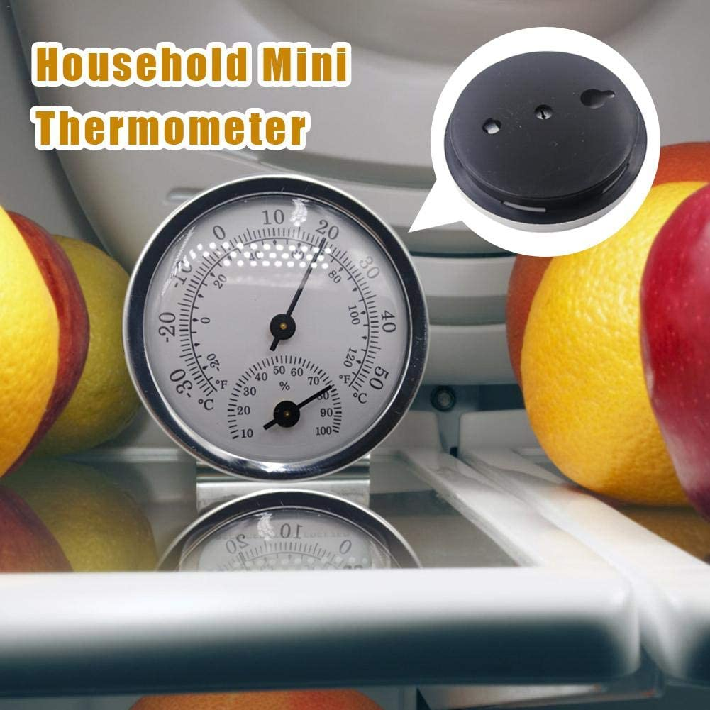 Dial Type Thermometer//Hygrometer for Indoor and Outdoor Use Trendy High Precision Mini Temperature and Humidity Measuring Instrument