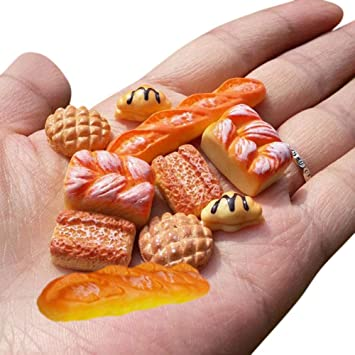 1//12 Puppenhaus Miniaturen 10 Stück Mini Kekse Puppenhaus Küche Dekoration