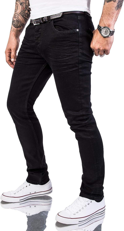 Rock Creek Herren Jeans Hose Regular Slim Stretch M46