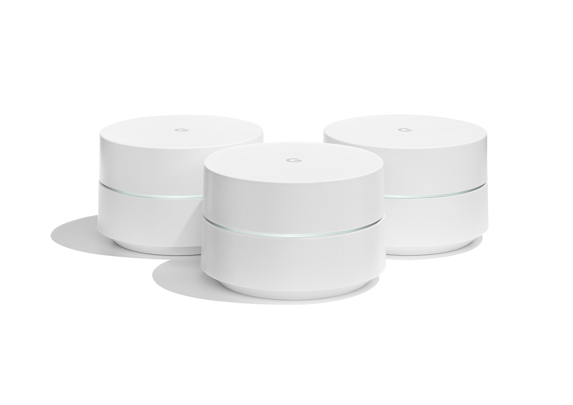Google WiFi system, 3-Pack - Router replacement for whole home coverage product image