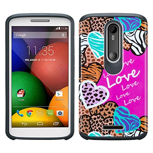 detailed look ddc32 5c23e Motorola DROID TURBO 2 Case, [Shock Absorption/Impact Resistant] Hybrid  Dual Layer Armor Defender Protective Case Cover for Verizon Driod Turbo 2  ...