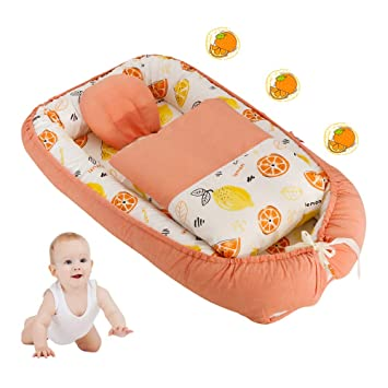 Amazon.com: Tumbona de bebé para recién nacido, nido de bebé ...