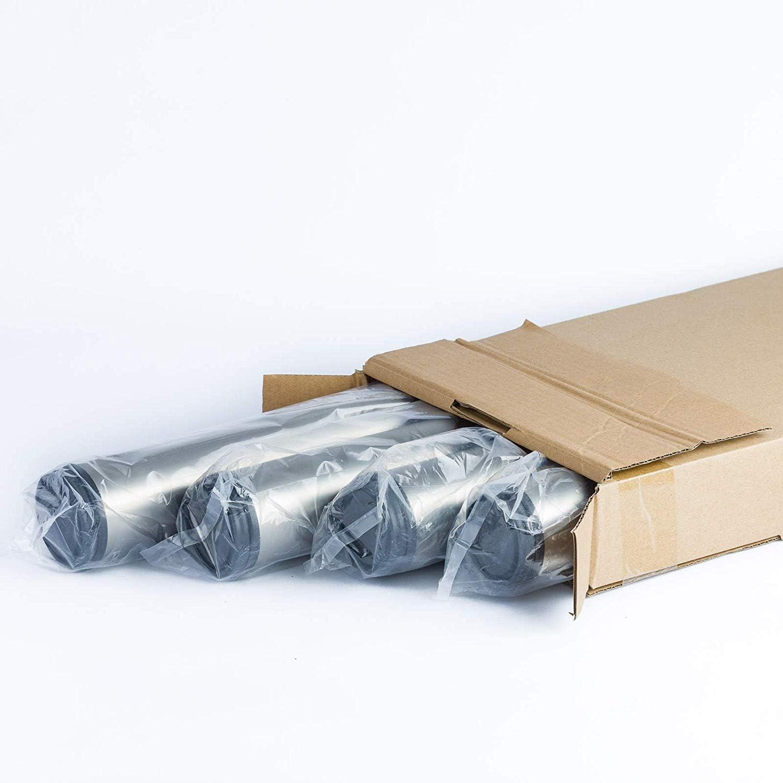 710/820/870/1100/mm avec vis et plaque de montage Lot de 4/barres de support pur table de cuisine ou table de travail ajustable