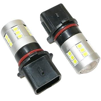 P13W 24SMD 2835 Bombillas Led Bulbus Canbus Cree DRL Xenon EA3R2 para luces de circulación diurna: Amazon.es: Coche y moto