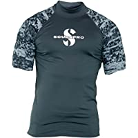 SCUBAPRO Graphite Rash Guard - Camiseta de manga