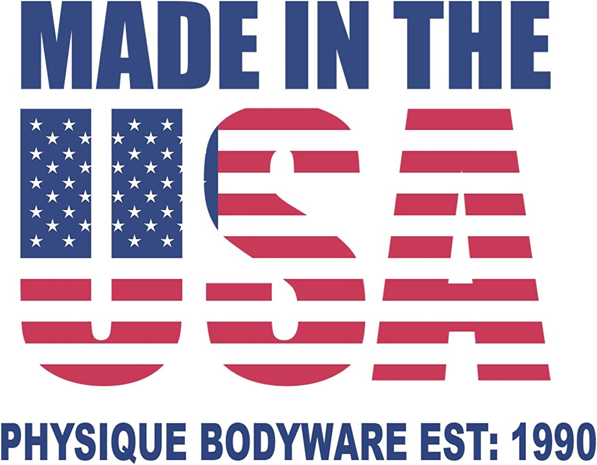 Physique Bodyware Mens Y Back Stringer Tank Top. Made in America: Clothing