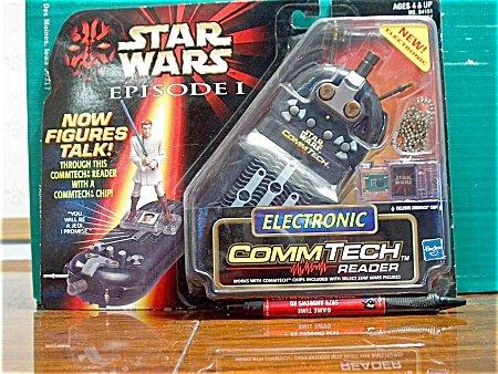 Star Wars Episode 1 Comm-Tech Electronic - Chip Star Wars Commtech Figure