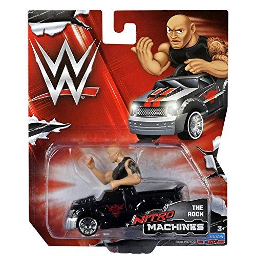 Nitro Machines - WWE/WWF The Rock by playmates toys