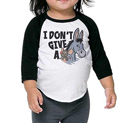 SH-rong I Don't Give A Rats Ass Toddler Custom Tshirt
