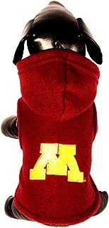 product image for NCAA Minnesota Golden Gophers Polar Fleece Hooded Dog Jacket