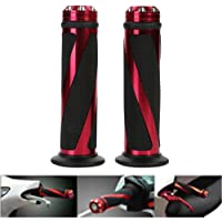 Aikeec Motorcycle Handlebar Grips Handlebar Rubber Bar End Thruster Grip Compound Hand Grips for All Handlebars 7//8 for CRF YZF WRF RM KXF Pit Dirt Bike Off-road Enduro Motorcross Yellow